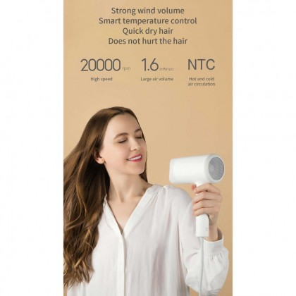 2019 XIAOMI Mijia Water Ion Hair Dryer 1800W Hair Care Anion Professional Quick Dry Portable